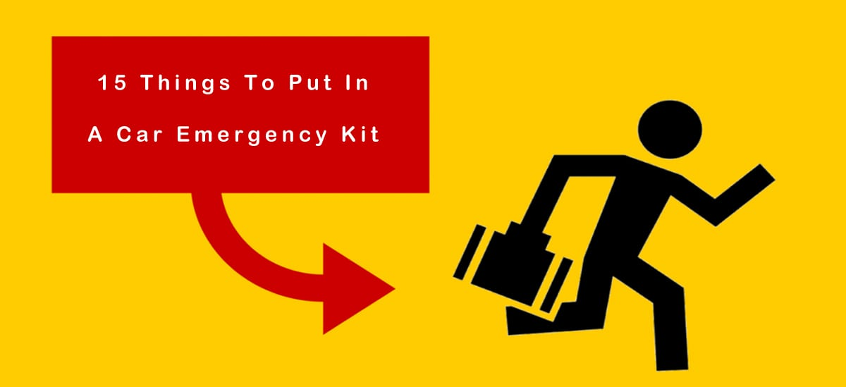 15 Things To Put In A Car Emergency Kit